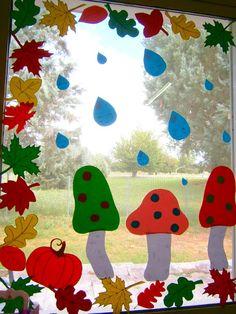 Προσχολική Παρεούλα : Φθινοπωρινή διακόσμηση τάξης ..