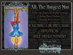 Get in-depth meanings for The Hanged Man card! Upright & reversed Tarot Card Meanings included for a more detailed Tarot Reading.
