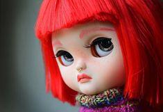 OOAK Blythe Doll Custom 45 Leeloo by Ginas.Doll.ART