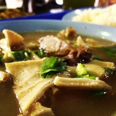 Chinese Herbal Mutton Soup - mixed with stomach, tendon & marrow