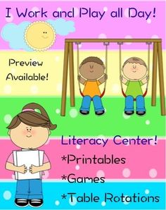 A fun learning center incorporating literacy into the primary classroom! Look at the preview!