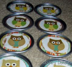 Owl Memory Game | Oopsey Daisy