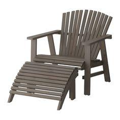 SUNDERÖ Ligstoel, buiten IKEA Door de ruime afmetingen, achteroverhellende rugleuning en brede armleuningen zit je comfortabel.