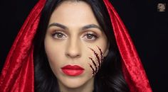 It's Little Red Riding Hood... with a twist. Or should we say a scratch? The darker side of the fairy tale featuring a scary cut from the Big Bad Wolf.
