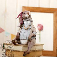 Teddy Bunny toy / Мишки Тедди ручной работы. Заказать Крольчиха Аласти. glarchik Лариса. Ярмарка Мастеров. Авторская ручная работа, заяц