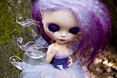 fairy girl for Through the eye of Fizzgig  gorgeous wings made by Nerea_Mei