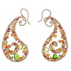 Calico Juno Paisley Earrings