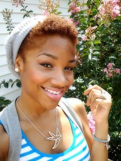 twa hairstyles | Fab Friday TWA (teeny weeny afro)