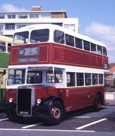 A Leyland Titan PD2/40 Metro-Cammell 56-seat body, one of 15 similar buses delivered to CPPTD  in 1958.  Two of this batch of buses survive in preservation, No.112 (ORV 989) with the City of Portsmouth Preserved Transport Depot (CPPTD) at Portchester and 115 (ORV 992) which is seen here.
