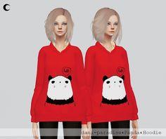 Panda Hoodie at Kalewa-a • Sims 4 Updates