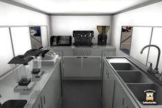 (A través de CASA REINAL) >>>>>  coffee truck interior