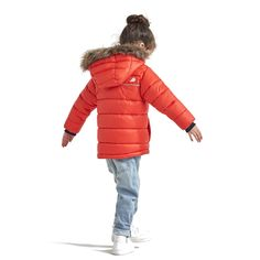 Didriksons Digory Kids Puffa Jacket | Poppy Red – Sportbaby