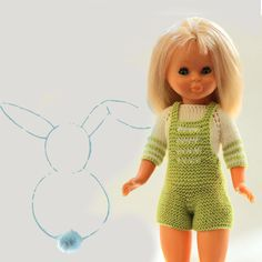 Knitting Dolls Clothes, Doll Clothes, Crochet, Diy And Crafts, Barbie, Rompers, Dresses, Google, Fashion