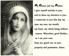Daily consecration to Mary | THE Queen of Heaven | Pinterest