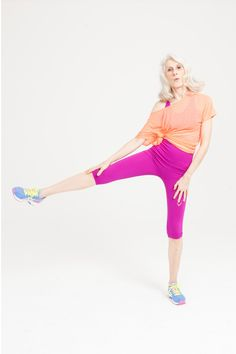 Fashion for all ages: activewear – in pictures