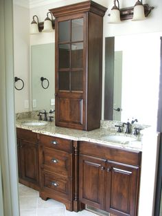 Built In Cabinet The Bathroom Sink Cabinets Maximize E