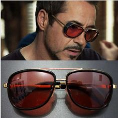 4a3019a0824e Iron Man Fashion Double Girder Sun Glasses Driving Sport Outdoor Glasses  Eyewear #Unbranded #Fashion