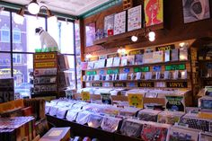 Visit BG, Ohio!: Shopping at Finders Records #downtownbg