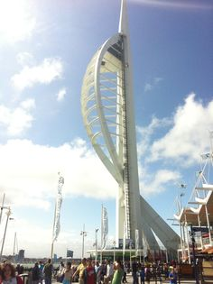 The Spinnaker Tower. Symbol of Pompey Portsmouth, Opera House, Fair Grounds, Tower, City, Building, Travel, Rook, Viajes