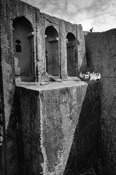 Cristina Garcia Rodero, Lalibela, Bet Gabriel-Rufael church, Ethiopia