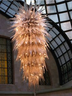 Chihuly, yes, no? Stunning - emphatically yes!