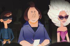 Bryanboy, Suzy  Menkes  and Lady  Gaga  - Barneys & Disney 'Electric Holiday'  Slideshow via WWD.com