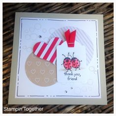 Stampin' Together!: Thank you, friend