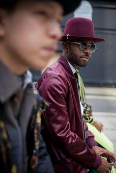 London Men's Fashion Week street style. [Photo: Kuba Dabrowski]