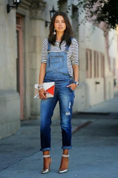 Street outfit, denims