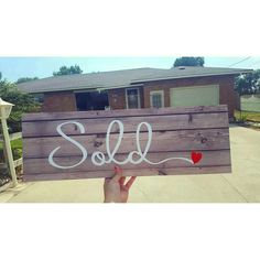 Super cute way to use our signs! Repost from @rmreb_idahorealestate A more unconventional Sold!❤ picture but this had to be one of my favorite deals. I loved the sellers and our mutual love of antiques and I'm so grateful we were able to help them sell their cute home, and in record time ;) #Sold