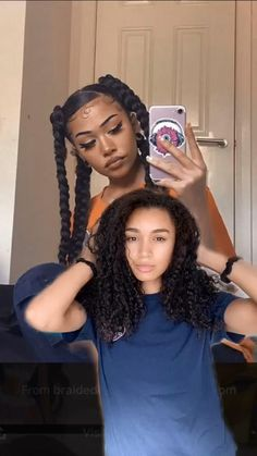 4 Braids Hairstyle, Hair Ponytail Styles, Cute Curly Hairstyles, Black Girl Braided Hairstyles, Baddie Hairstyles, Curly Hair Styles, Natural Hair Styles, Hairstyle Short, School Hairstyles