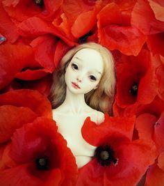 Wild hearts can´t be broken | Resin Enchanted doll by Marina Bychkova