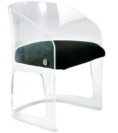 Acrylic Bucket Chair