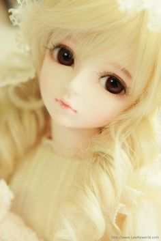 Sweet expression super dollfies resin girl