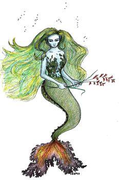 Vellamo - Finnish folklore as the goddess of the sea