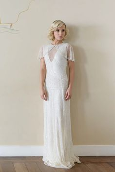 Vicky Rowe A Debut Collection Of 1920s And 1930s Inspired Heirloom Style Wedding Dresses
