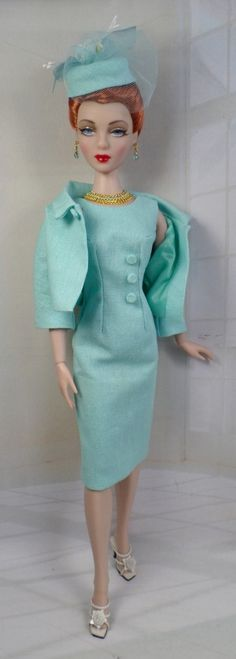 Tiffany Tailored  for Gene Marshall and her friends 16 inch fashion dolls OOAK Fashion