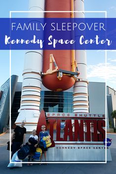 Kennedy Space Center Family Sleepover at NASA in Florida Visit Florida, Florida Vacation, Florida Travel, Camping With Kids, Travel With Kids, Family Travel, Girl Scout Activities, Fun Activities, Family Vacation Destinations
