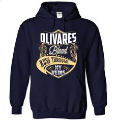 OLIVARES Blood - #birthday shirt #tshirt feminina. PURCHASE NOW => https://www.sunfrog.com/Names/OLIVARES-Blood-6021-NavyBlue-Hoodie.html?68278