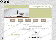 """""""Diseño de blog"""" en venta - Ref. """"Decoración2"""""""