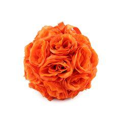 orange kissing balls!