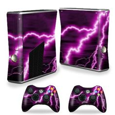 Each Microsfot Xbox 360 S Slim Skin kit is printed with super-high resolution graphics with a ultra high gloss finish. All skins are protected with MightyShield. This high gloss laminate protects from scratching, fading, peeling and most importantly leaves no sticky mess guaranteed.