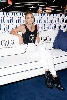 Gigi Hadid presents her new Tommy Hilfiger Collection at Bread and Butter in Berlin.
