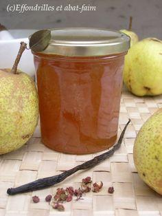 Confiture de poires et poivre du Sichuan