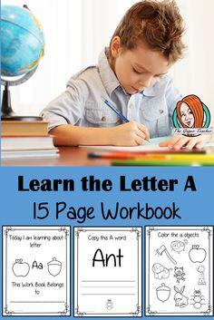 Alphabet Book Letter F Book Letters, Letter K, Alphabet Book, English Lessons, Teacher Newsletter, Primary School, Teacher Resources, Lesson Plans, Coloring