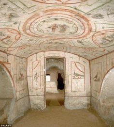 The Jewish catacombs were discovered in 1918, and archaeological excavations continued for...