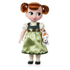Thumbnail Image of Disney Animators' Collection Anna Doll - Frozen - # 1 Frozen Disney, Anna Frozen, Disney Princess Dolls, Disney Dolls, Elsa, Aladdin, Rapunzel, Frozen Merchandise, Walter Elias Disney