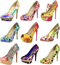 Sexy Floral Pumps: http://amzn.to/Z71LeE