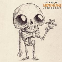 Buddies!  #morningscribbles #countdowntohalloween
