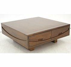 Table basse carrée Panama